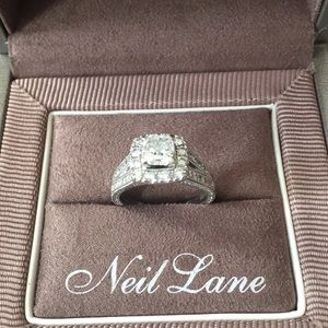 cc9f45f1f 🌹Wow🌹Neil Lane 2ct tdw cushion cut diamond ring